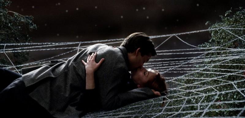 Kirsten Dunst e Tobey Maguire in una scena di Spider-Man 3