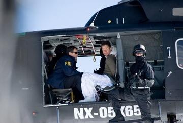 Mark Wahlberg in una scena di Shooter diretto da Antoine Fuqua