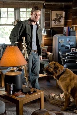 Mark Wahlberg in una scena di Shooter, per la regia di Antoine Fuqua