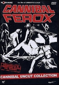 La copertina DVD di Cannibal Ferox