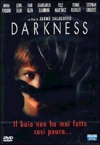 La copertina DVD di Darkness