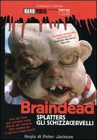 La copertina DVD di Splatters - Gli Schizzacervelli - Collector's Edition