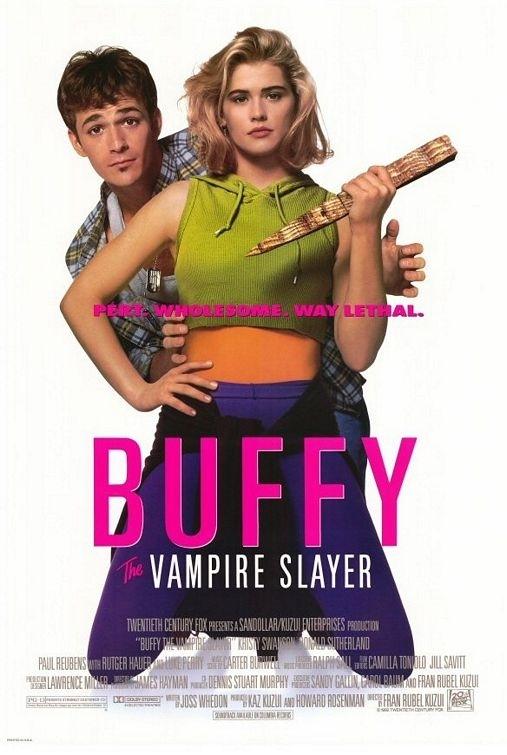 La locandina di Buffy l'ammazzavampiri