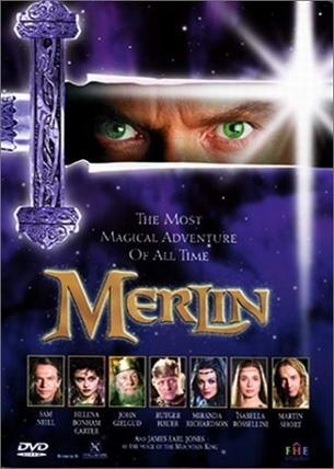 La locandina di Merlino e l'apprendista stregone