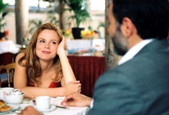 Isabelle Carré e José Garcia nel film Quatre étoiles