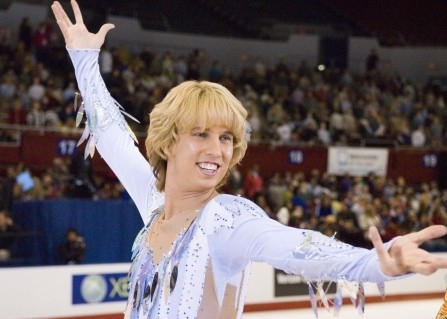 un brioso Jon Heder in Blades of Glory