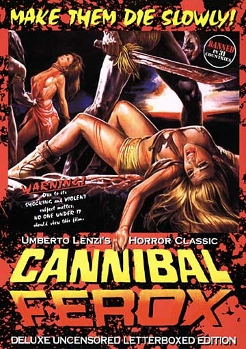La locandina di Cannibal Ferox
