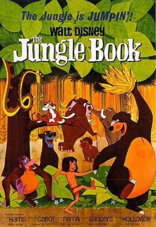 La locandina di Il libro della giungla
