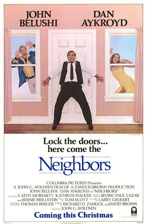 La locandina di I vicini di casa