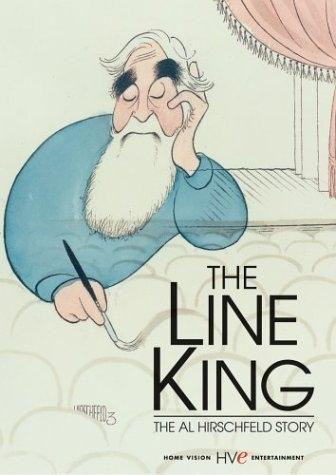 La locandina di The Line King: The Al Hirschfeld Story