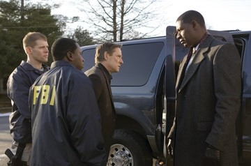 Chris Cooper e Dennis Haysbert in una scena di Breach - L'infiltrato