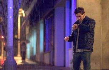 Jake Gyllenhaal in una scena del film Zodiac, diretto da David Fincher