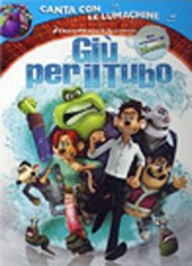 La copertina DVD di Giù per il tubo