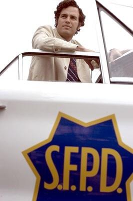 Mark Ruffalo in una scena del film Zodiac ispirato a una vicenda realmente accaduta