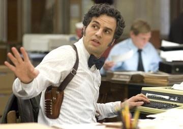 Mark Ruffalo in una scena del tesissimo thriller Zodiac