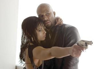 Alicia Keys e Common in una scena di 'Smokin' Aces'