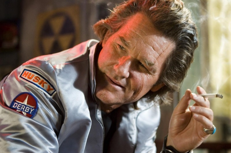 Kurt Russell è uno dei protagonisti del film Death Proof, episodio del double feature Grind House