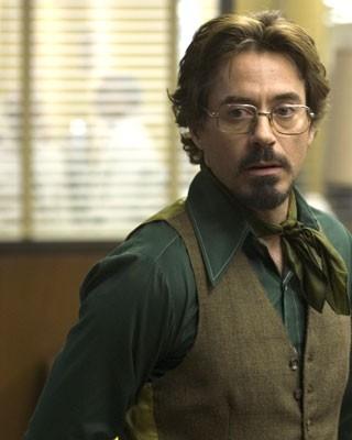 Robert Downey Jr. in una sequenza del film Zodiac