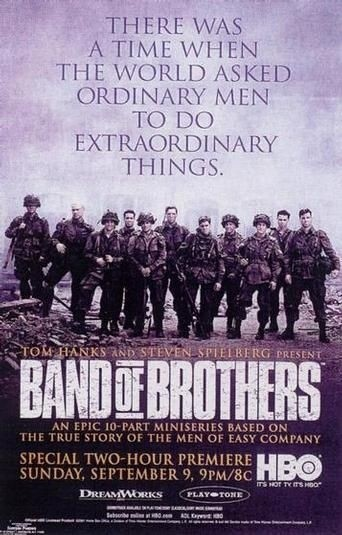 La locandina di Band of Brothers