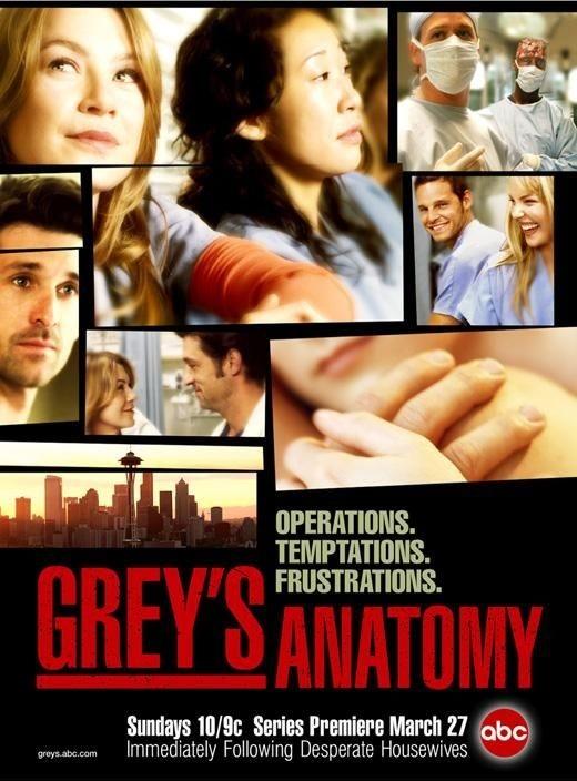 La locandina di Grey's Anatomy