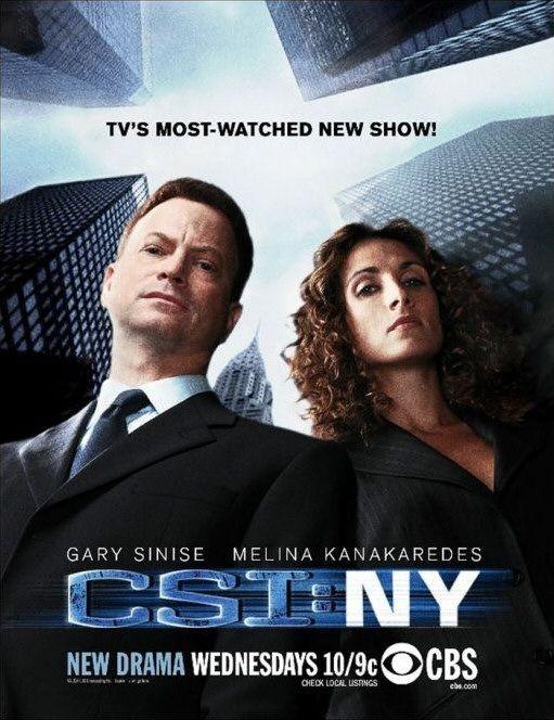 La copertina della serie CSI New York