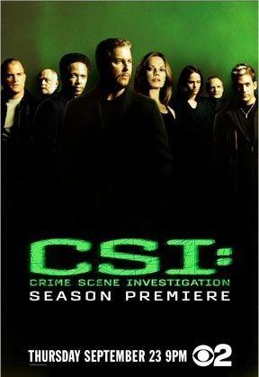 La locandina di CSI : Crime Scene Investigation