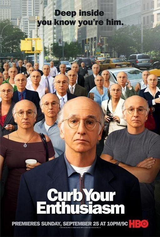 La locandina di Curb your enthusiasm