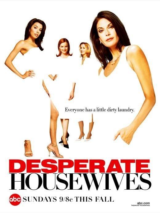 La locandina 'bianca' di Desperate Housewives