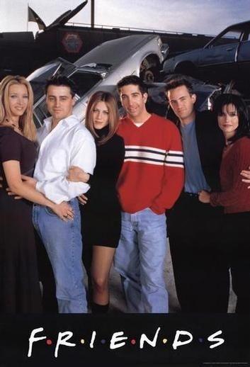 Gli attori protagonisti di Friends
