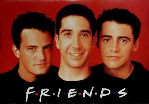 Un'immagine promozionale della serie Friends