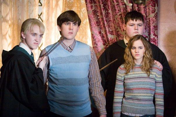 Emma Watson  in una scena del film Harry Potter e l'Ordine della Fenice