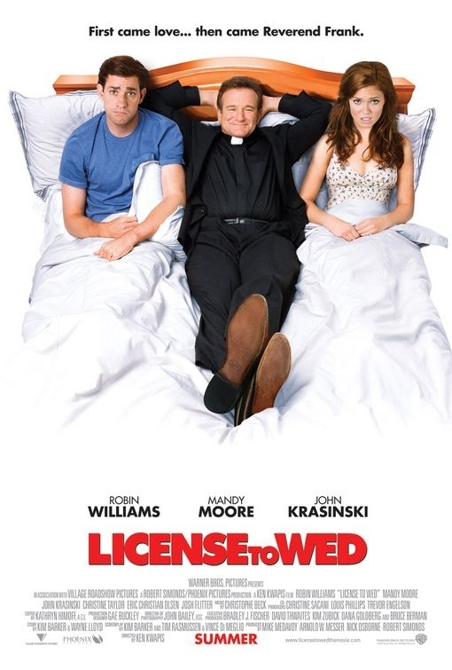 La locandina di License to Wed