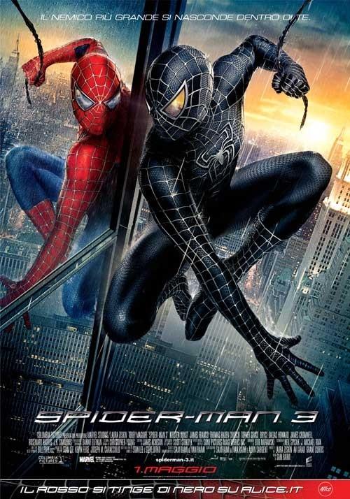 La locandina italiana di Spider-Man 3