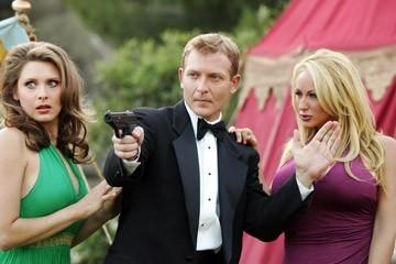 Brooklyn Freed, Darko Belgrade e Michelle Misty Lang in una scena di Epic Movie