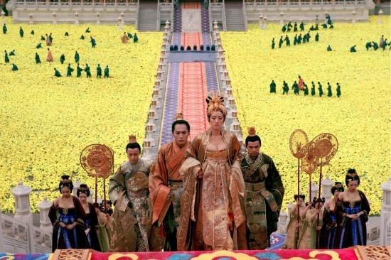 Gong Li in una scena de La città proibita