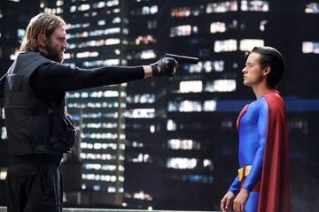 Paul Zies e Adam Campbell in in una scena di Epic Movie