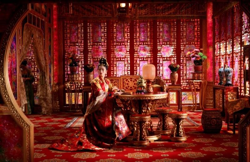 Una suggestiva scena del film La città proibita