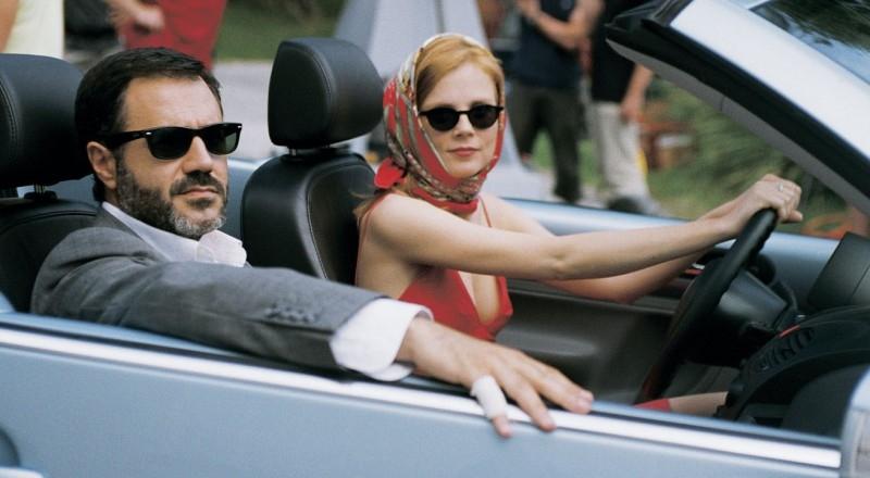 una elegante Isabelle Carré e José Garcia in Hotel a cinque stelle