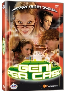 La copertina DVD di Geni per caso - Vol.  4