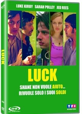 La copertina DVD di Luck