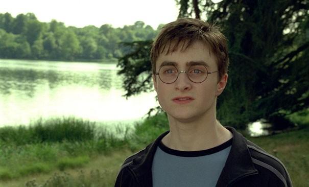 Daniel Radcliffe in una scena del film Harry Potter e l'Ordine della Fenice