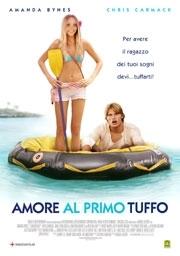 La copertina DVD di Amore al primo tuffo