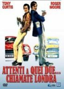La copertina DVD di Attenti a quei due... chiamate Londra