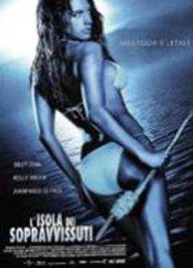 La copertina DVD di L'isola dei sopravvissuti