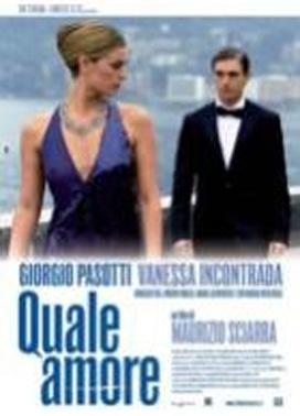 La copertina DVD di Quale amore