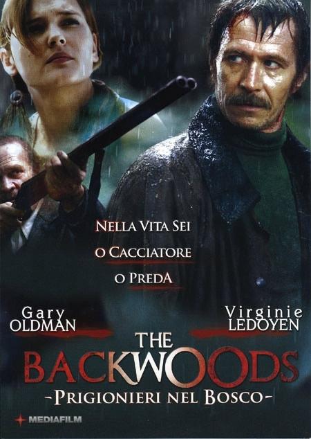 La copertina DVD di The Backwoods - Prigionieri nel bosco