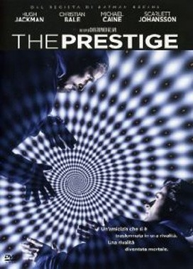 La copertina DVD di The Prestige