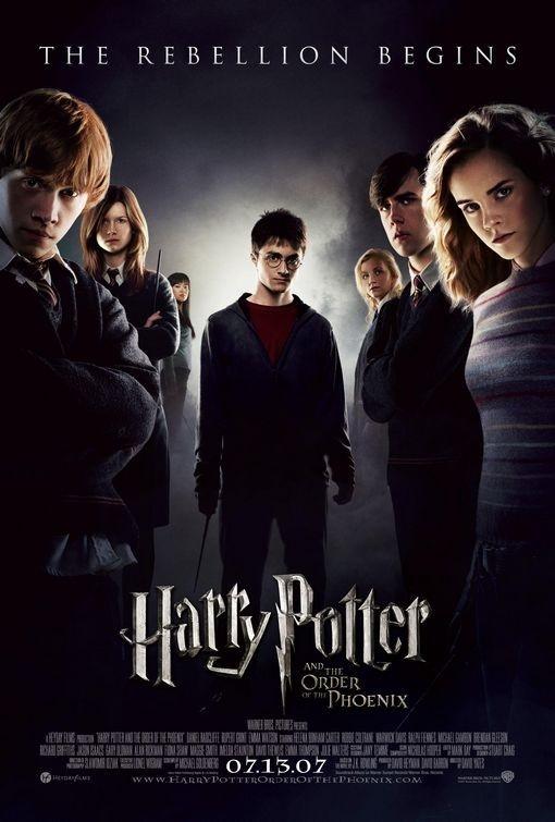 locandina di Harry Potter e l'Ordine della Fenice