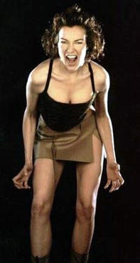 Una grintosa Stefania Rocca