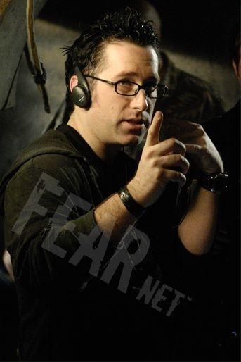 Darren Lynn Bousman sul set di Saw 4
